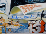Ari Lehman Jason 1 Signed 16x20 Friday The 13th Horizontal Photo- PSA/DNA Auth