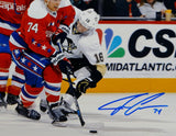 John Carlson Signed Washington Capitals 16x20 Against Penguins Photo- JSA W Auth