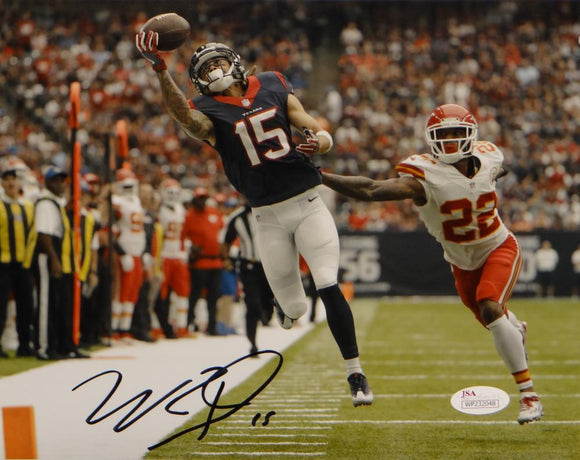 Will Fuller Autographed Houston Texans 8x10 One Hand Catch Photo- JSA W Auth
