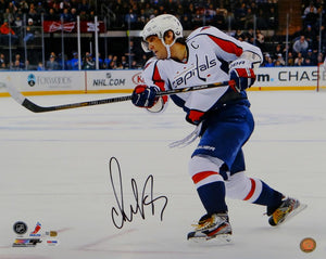 Alexander Ovechkin Signed Capitals 16x20 Horizontal On Ice Photo- PSA/DNA Auth