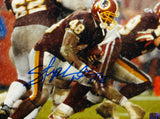 Stephen Davis Autographed Redskins 8x10 Running Photo- The Jersey Source Auth