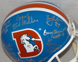 Orange Crush Autographed Denver Broncos Full Size TB Helmet- JSA Witnessed Auth