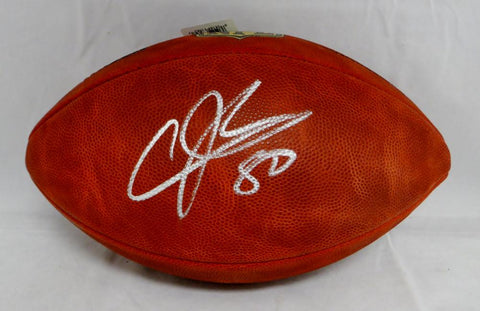 Andre Johnson Autographed NFL Authentic Duke Football- PSA/DNA Authenticated