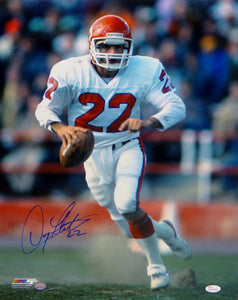 Doug Flutie Autographed New Jersey Generals 16x20 On Field PF Photo- JSA W Auth