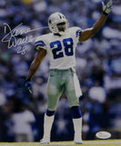 Darren Woodson Autographed *White Dallas Cowboys 8x10 Pointing Photo- JSA W Auth