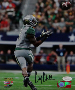 Corey Coleman Autographed Baylor Bears 8x10 About To Catch PF Photo- JSA W Auth