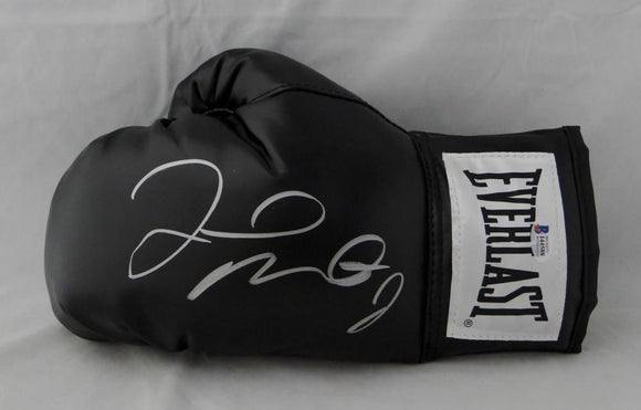 Floyd Mayweather Autographed Black Everlast Boxing Glove - Beckett Auth