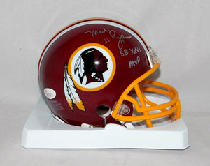 Mark Rypien Autographed Washington Redskins Mini Helmet W/ SB MVP- JSA W Auth