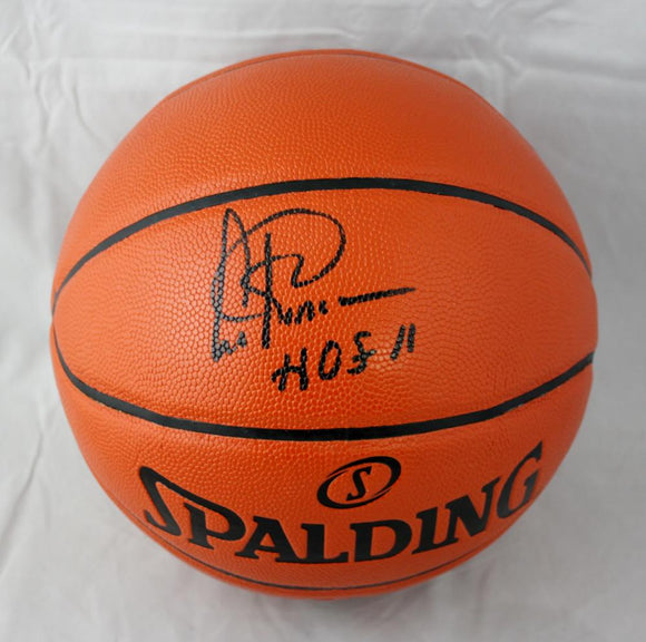 Artis Gilmore Autographed Official NBA Spalding Basketball- JerseySource HOF INS