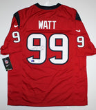 JJ Watt Signed Houston Texans NFL Nike Red Jersey- JSA W Authentication