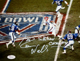 Everson Walls Signed Bills 8x10 Super Bowl Photo W/ SB Champs- JSA W Auth *White
