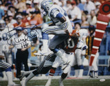 Kenny Easley Autographed Seahawks 16x20 Interception vs Broncos Photo W/ HOF- JSA W Auth