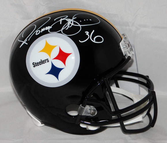 Jerome Bettis Autographed Pittsburgh Steelers F/S Helmet- JSA Witness Authenticated *White