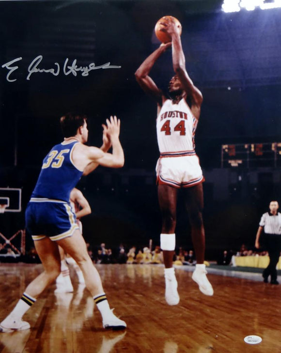 Elvin Hayes Autographed Houston Cougars 16x20 Shooting Photo-JSA W Authenticated