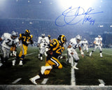 Eric Dickerson Signed *Blue Rams 16x20 Against Raiders Photo W/ HOF- JSA W Auth