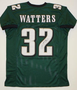 Ricky Watters Autographed Green Pro Style Jersey- SGC Authenticated