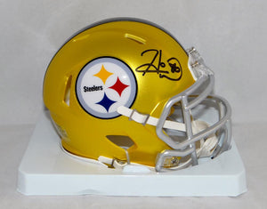 Hines Ward Autographed Pittsburgh Steelers Blaze Mini Helmet- JSA W Authenticated