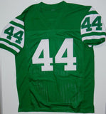John Riggins Autographed Green Pro Style Jersey- JSA W Authenticated