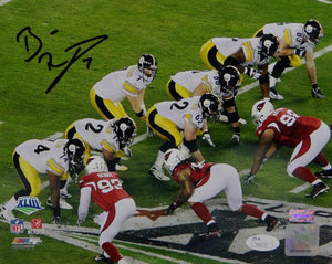 Ben Roethlisberger Signed 8x10 Steelers Vs Cardinals PF Photo- JSA Auth *Black