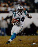 DeAngelo Williams Autographed Carolina Panthers 16x20 Running Photo- JSA W Auth