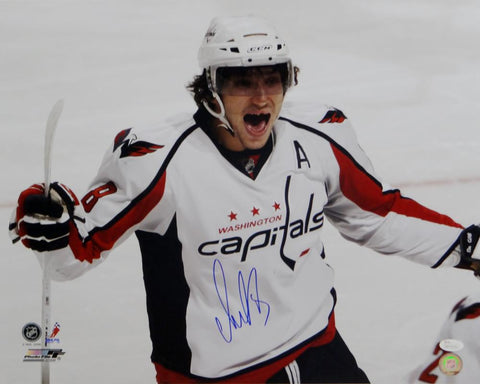 Alexander Ovechkin Signed Capitals 16x20 Up Close PF Photo- JSA W Auth *Blue