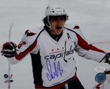 Alex Ovechkin Signed 8x10 Washington Capitals Celebrating Up Close Photo- JSA W Auth