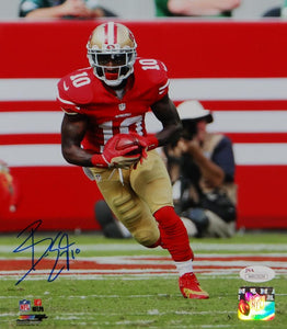 Bruce Ellington Autographed San Francisco 49ers 8x10 Running PF Photo-JSA Auth