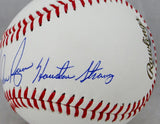 Nolan Ryan Signed 2017 World Series Baseball w/ Houston Strong (SS)- JSA/Holo