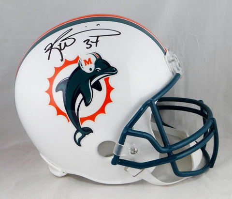 Ricky Williams Autographed Miami Dolphins Full Size Helmet- JSA W Auth *Black