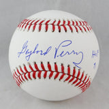 Gaylord Perry Autographed Rawlings OML Baseball w/ HOF 91- JSA W Auth