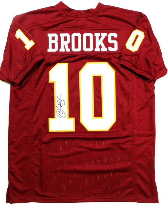 Derrick Brooks Autographed Maroon College Style Jersey- JSA W Authenticated *1