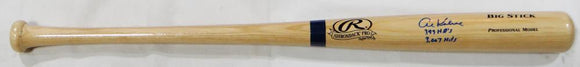 Al Kaline Autographed Blonde Rawlings Big Stick Baseball Bat w/ 2 Insc- JSA W Auth *Blue