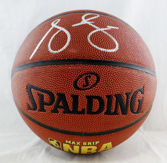 Steve Francis Autographed Indoor/Outdoor Basketball - JSA W Authenticated *Black
