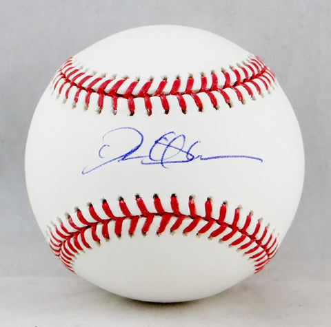 Deion Sanders Autographed Rawlings OML Baseball - Beckett Authenticated