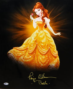 Paige O'Hara Autographed 16x20 Beauty And The Beast Poster- JSA W Auth