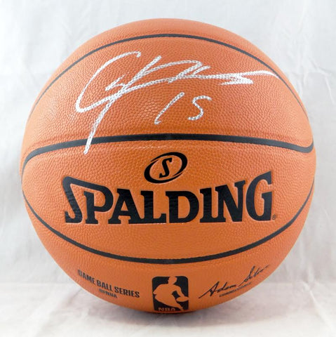 Clint Capela Autographed Official NBA Basketball - Tristar Auth *Silver