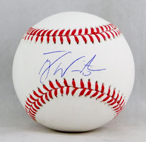 Tyler White Autographed Rawlings OML Baseball- Beckett Auth
