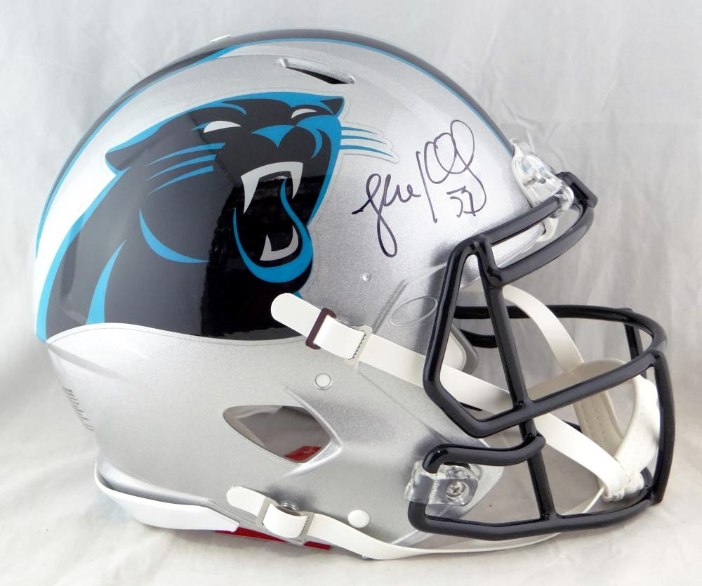 Sports Mem, Cards & Fan Shop Football-nfl Luke Kuechly Autographed Signed Carolina Panthers Football Ball Jsa Coa