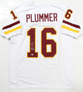 Jake Plummer Autographed White College Style Jersey- Beckett Authenticated *1
