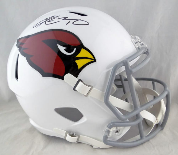 Kyler Murray Autographed Arizona Cardinals F/S Speed Helmet - Beckett Auth *Black