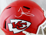 Tyreek Hill Autographed Kansas City Chiefs Full Size Speed Helmet- JSA W Auth *White
