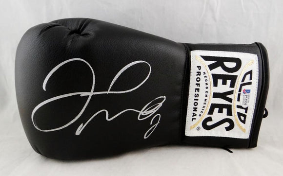 Floyd Mayweather Autographed Black Cleto Reyes Boxing Glove - Beckett Authentic