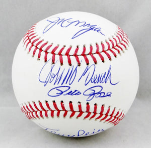 Big Red Machine Autographed Rawlings OML Baseball w/ 4 Signatures - JSA W Auth