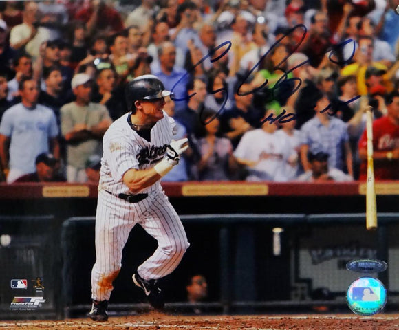 Craig Biggio Autographed Houston Astros 8x10 PF Photo 3000th Hit  w/ HOF- Tristar Auth *Blue