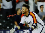 Yuli Gurriel Autographed Houston Astros 16X20 PF Celebrating - JSA W Auth *Orange