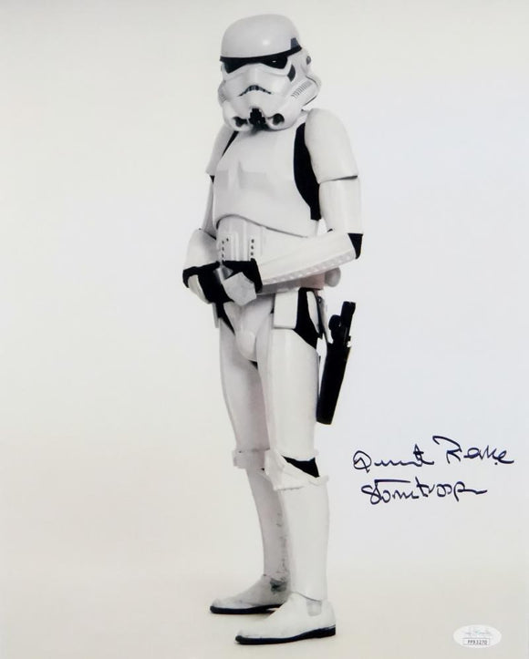 Quentin Pierre Autographed Sideways Full Body 11x14 Photo w/ Stormtrooper - JSA Auth *Black