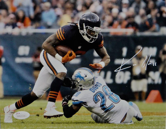 Kevin White Autographed Chicago Bears 8x10 Against Lions Photo- JSA W Auth *White