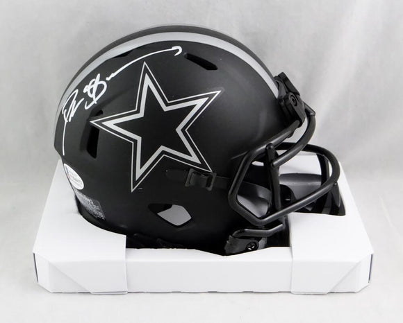 Deion Sanders Autographed Dallas Cowboys Eclipse Speed Mini Helmet- Beckett Auth *White
