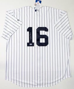 Whitey Ford Autographed New York Yankees White P/S Majestic Jersey - PSA Auth *1