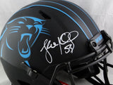 Luke Kuechly Autographed Carolina Panthers F/S Eclipse Speed Authentic Helmet- Beckett Auth *Black